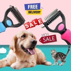 🐶Dog Pet DEMAT Tool Cat Comb Brush Grooming Kit  Undercoat Rake Demat HairTool