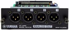 Yamaha my4-da my4da ANALOG INTERFACE CARTE XLR 01 V 96 aw4416 2400 RECHG + Garantie