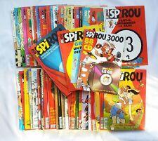 Lot BD - 52 Magazine Revue Spirou n° 2960 à 3011 Année 1995 COMPLET + SUPPLEMENT