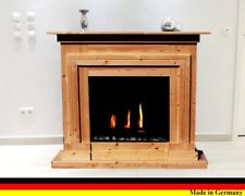 Bioethanol Ethanol und Gelkamin Kamin Berlin Deluxe Nussbaum incl. 3 l Brenner