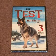 The Test Starring Rin Tin Tin Jr.(DVD, Movie, Children's, Not Rated) New, Sealed