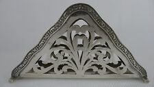 Old Art Nouveau design Austrian Silver Paper Napkin Holder in Good Condition