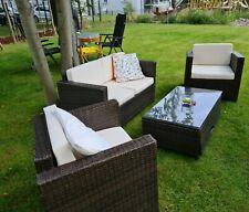 Loungegarnitur Rattan Garten
