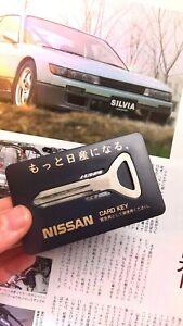 Original NISSAN CARD BLANK KEY,Car,Silvia,Skyline,240SX,GTR,racing,S13,Nismo,R33