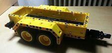 Bauanleitung instruction Pritsche Bus Anhänger Eigenbau Unikat Moc Lego Technic