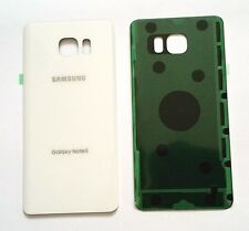 """Original OEM Battery Back Cover Samsung Galaxy Note 5 N920 """"WHITE"""" ALL Carriers"""