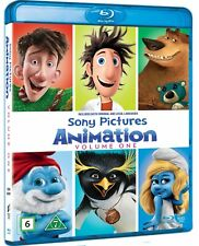 Sony Pictures Animation - Volume 1 (5 x Blu-ray) region free multi language
