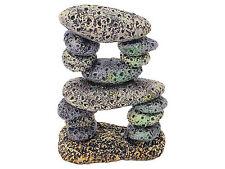 Rock Pebble Rubble Formation Aquarium Decoration Fish Tank Cave Ornament