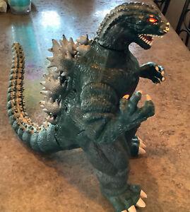 "1994 Toho Trendmasters 9"" Godzilla  With Working Sound & Light Up Eyes"