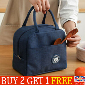 Lunch Bag Insulated Cool Thermal Food Storage Box Carry Tote For Adults Kids