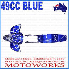 Plastics Guards Fenders Fairing Kit 47cc 49cc Mini Kids Quad Dirt Bike BLUE