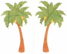 ~ Retired NLA Papier Palm Tree Tropical Travel Holiday Mrs Grossman Stickers ~