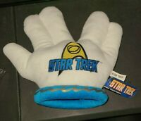 STAR TREK Spock Live Long And Prosper Plush Toy Factory 2012 Brand New With Tag