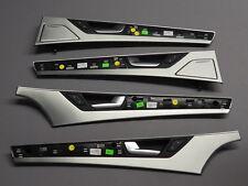 Audi A8 4H Original Interieur Dekor Alu Türleisten Türblenden beleuchtet