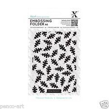 Docrafts Xcut embossing folder A6 15x10cm Oak Leaf Pattern card making