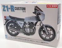 Aoshima 1/12 Scale Model Motorcycle Kit 53997 - 1978 Kawasaki Z1-R Custom