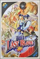 The LAST BLADE - RARE Metal Wall Tin Sign Arcade Game Poster snk neo geo neogeo