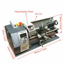Metal Wood Lathe Variable Speed Material Processing Thread Bench Top