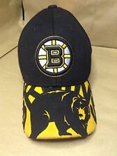 VINTAGE BOSTON BRUINS CAP YOUTH REEBOK CENTER ICE COLLECTION HAT