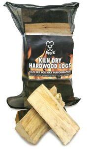 Big K 7Kg Sack Premium Kiln Dried Hardwood Logs FSC Certified Easy To Light Logs