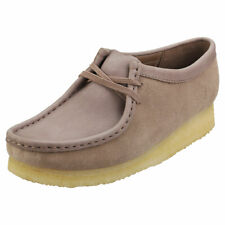 Clarks Originals Wallabee Womens Mushroom Leather Wallabee Shoes