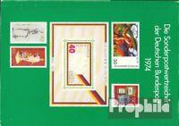 BRD postfrisch 1974 Offizielles Jahrbuch der Deutschen Post mit Berlin