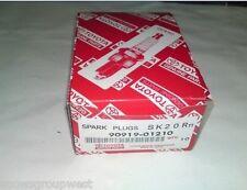 Genuine Toyota Spark Plug Set x4 90919-01210 SK20R11 Denso New Original Iridium