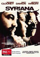 Syriana (DVD, 2006) REGION-4, NEW AND SEALED- FREE POST IN AUSTRALIA