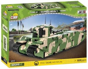 Cobi 2544 - Historical Collection - WWII TOG 2 - Super Heavy Tank - Neu