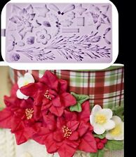 Winter Wreath Holly Silicone Mould Cake Chocolate Baking Fondant Silicon Mould