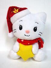 "RARE 2010 Yuko Shimizu Angel Cat Sugar Plush Doll Hello Kitty 7"" tall-Adorable"
