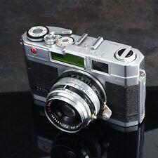 ^Petri 2.8 35mm Manual Film Camera True Rangefinder Color Corrected Super