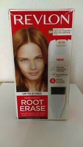 Revlon Root Erase 5R Medium Auburn Reddish Brown Permanent Hair Touch Up New