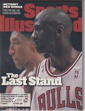 Sports Illustrated Magazine Michael Jordan Red Wings June 8, 1998 041019nonr
