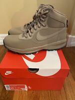 Nike Manoadome 844358-200 Khaki Tan Grey Men's Hiking Trail Work Boots Size 10