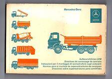 Mercedes-Benz - Directives de Carrossage de Camions - 1976