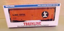 Walthers Trainline Ilinois Central 50' Plug Door Box Car Road No 11653