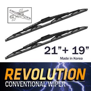 "REVOLUTION 21"" + 19"" Metal Frame Wiper Blades for Kia K2900 TRUCK 2008~2013"