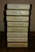 UNTESTED 8 Vtg 8-Track Tapes Dixie Melody Boys Vintage