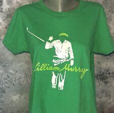 Vintage Style WILLIAM BILL MURRAY Golfing Artwork Caddyshack Women's L T-SHIRT