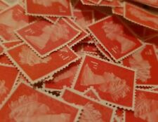 100 1st class stamps unfranked off paper No Gum FREE Delivery Thomas Edwig