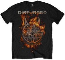 Disturbed 'quemar creencia' T-Shirt-Nuevo Y Oficial!