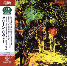 CCR CREEDENCE CLEARWATER REVIVAL GREEN RIVER CD MINI LP OBI John & Tom Fogerty