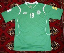 Turkmenistan National Football Team Jersey Matchworn umbro 2018 world cup green