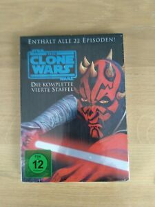 Star Wars: The Clone Wars - Die komplette vierte Staffel [5 DVDs]