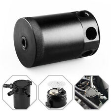 Universal Car Auto Racing Baffled 3Port Oil Catch Can/Tank/Air-Oil Separator Kit