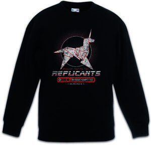 EQUAL RIGHTS FOR REPLICANTS Kids Boys Girls Pullover Voight Kampff Company