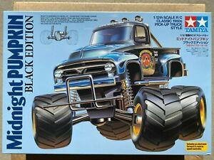 TAMIYA 1/12 RC MIDNIGHT PUMPKIN BLACK EDITION 2WD PICK-UP TRUCK 58547 BNIB