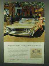 1960 Pontiac Bonneville Convertible Ad - Security