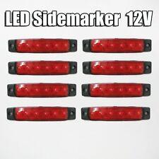 Nuevo Universal 8x 12v LED Smd Indicador intermitente lateral luz Remolque